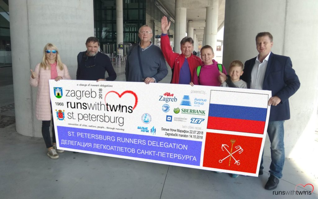 St. Petersburg delegation arrived to Zagreb